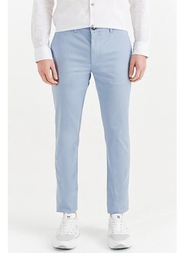 Avva Erkek  Yandan Cepli Basic Slim Fit Pantolon A01Y3042 Mavi